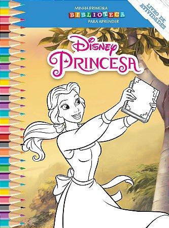 Disney Mini Biblioteca Colorir - A BELA E A FERA