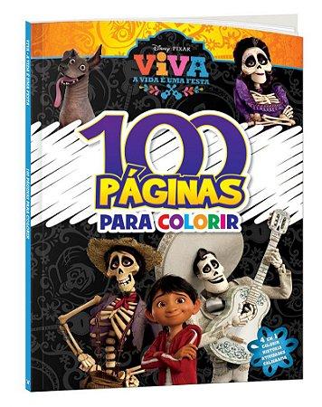 100 Páginas para colorir Disney  - VIVA