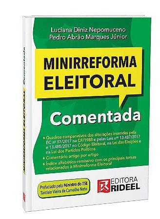 Minirreforma Eleitoral Comentada 1ED.