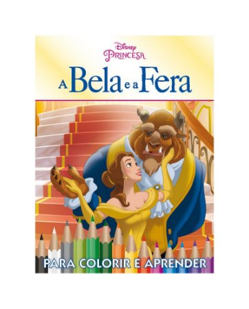 Disney Kit 5 em 1 com DVD - A BELA E A FERA