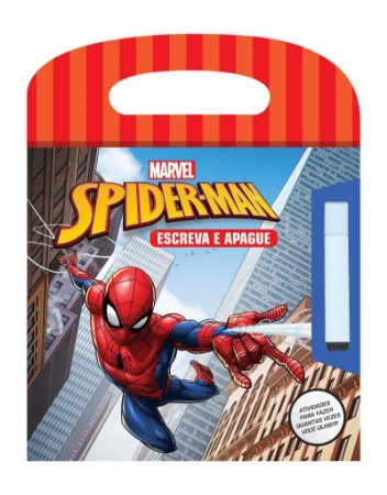 Marvel Escreva e Apague - SPIDERMAN