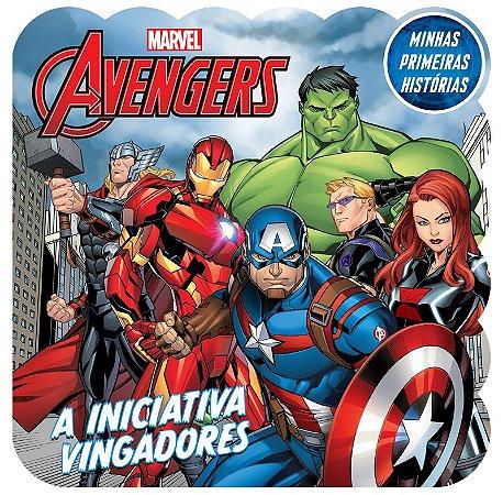 Marvel Minhas Primeiras Historias - AVENGERS TRAB.EQUIPE