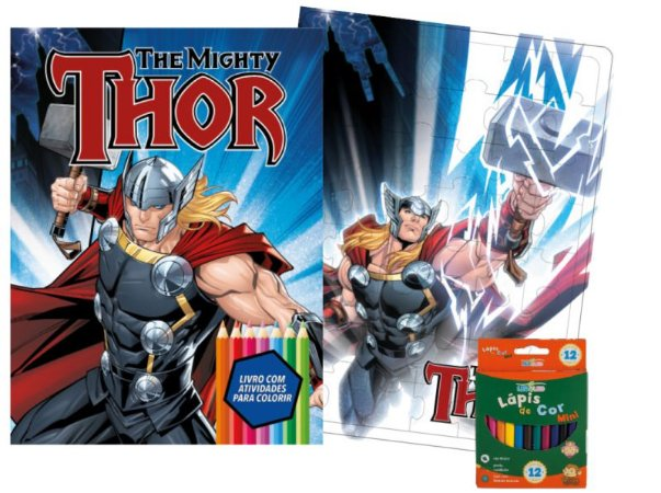 Marvel Kit Diversao - THOR