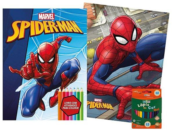 Marvel Kit Diversao - SPIDERMAN