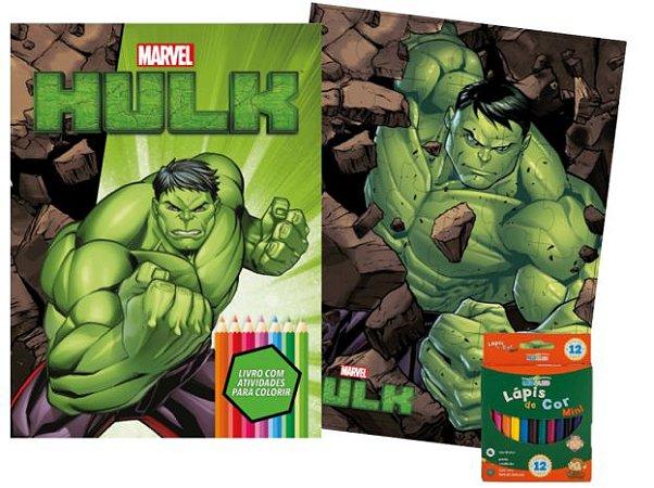 Marvel Kit Diversao - HULK