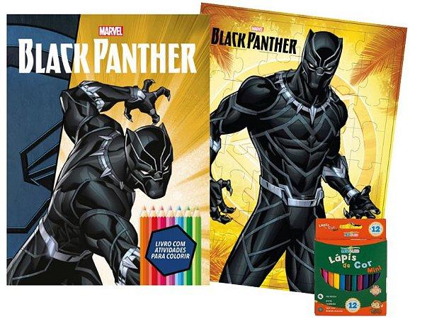 Marvel Kit Diversao - BLACK PANTHER