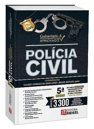 Gabaritado e Aprovado – Polícia Civil - 5ª edição