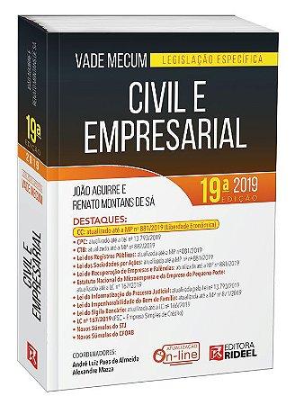 Vade Mecum Civil e Empresarial - Legislação Específica -19ª edição