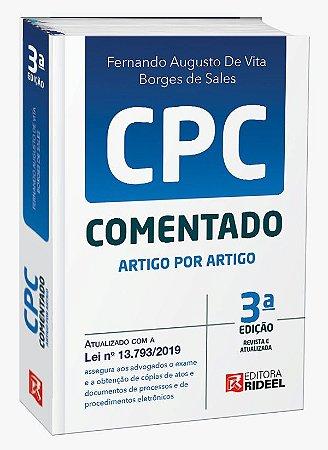 Novo CPC comentado Artigo por Artigo - 3ª edição