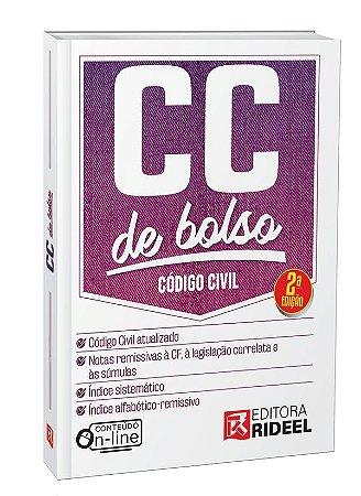 Código Civil - CC de bolso - 2ª edição