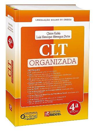 CLT Organizada - 4ª edição