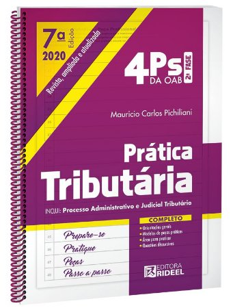 4Ps da OAB – Prática Tributária - 7ª edição