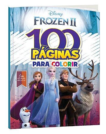 100 PÁGINAS PARA COLORIR – FROZEN 2