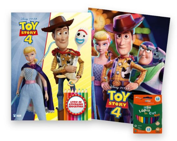 Kit Diversão - Toy Story 4