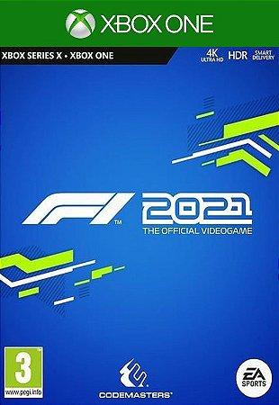 Formula 1 F1 2021   - Xbox One - Mídia Digital