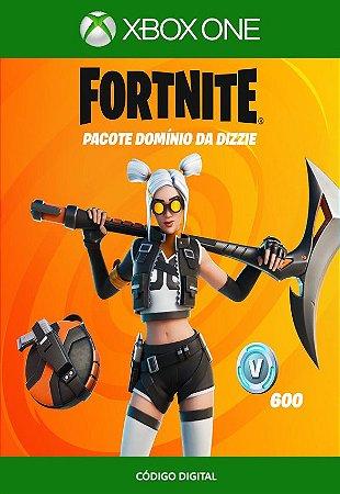 Fortnite : Pacote Domínio da Dizzie - Xbox One - Código de 25 Dígitos