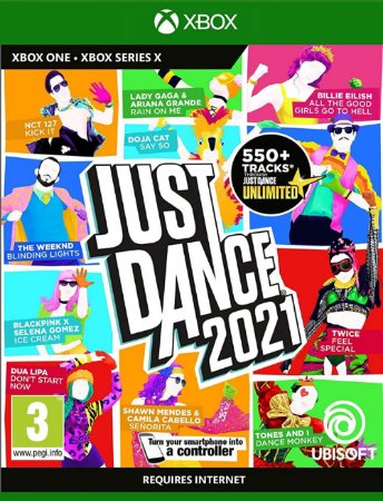 Just Dance 2021   - Xbox One - Mídia Digital