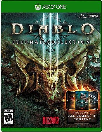 Diablo 3 III Eternal Collection - Xbox One - Mídia Digital