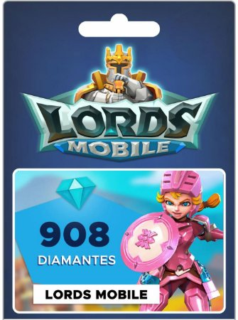 Lords Mobile - 908 Diamantes