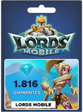Lords Mobile - 1.816 Diamantes