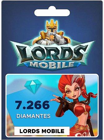 Lords Mobile - 7.266 Diamantes