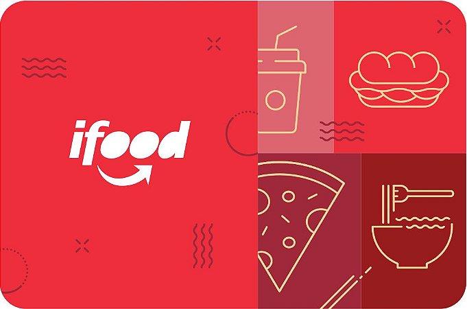 Ifood - Cartão Pré-Pago R$ 100 Reais