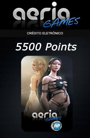 Aeria Games - 5500 Aeria Points
