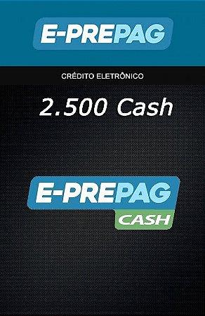 E-Prepag Cash - 2.500 Cash