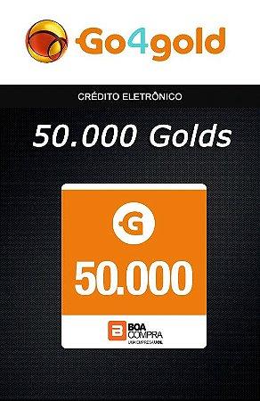 Go4Gold Boa Compra - 50.000 Créditos Gold
