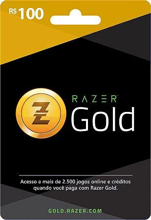 Razer Gold PIN Rixty - Cartão R$ 100
