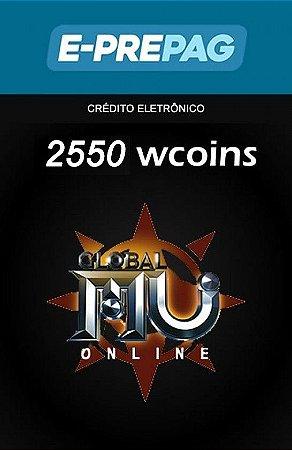 Mu Online - 2.550 WCoins