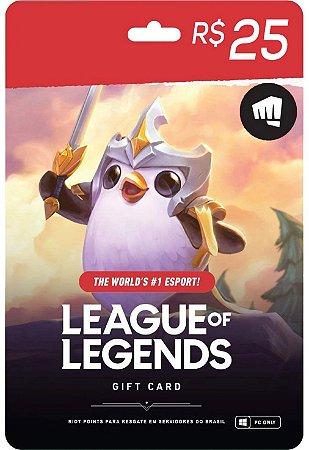 League of Legends - 1250 Riot Points