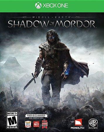 Terra-média : Sombras de Mordor - Xbox One - Mídia Digital
