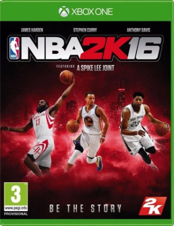 NBA 2k16 - Xbox One - Mídia Digital