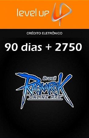 Ragnarok - 90 Dias + 2.750 ROPs VIP