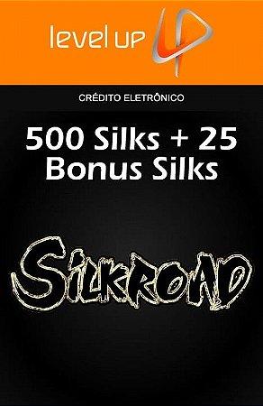 Silkroad - 500 Silks + 25 Bonus Silks