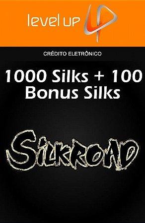 Silkroad - 1.000 Silks + 100 Bonus Silks
