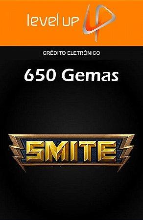 Smite - 650 Gemas