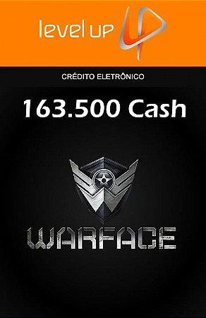 Warface - 163.500 Cash