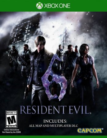 Resident Evil 6 - Xbox One - Mídia Digital