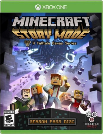 Minecraft: Story Mode - The Complete Adventure - Xbox One - Mídia Digital