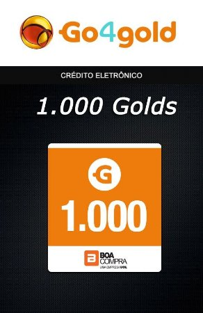 Go4Gold Boa Compra - 1.000 Créditos Gold