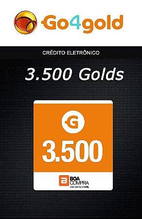 Go4Gold Boa Compra - 3.500 Créditos Gold