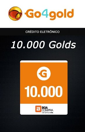 Go4Gold Boa Compra - 10.000 Créditos Gold