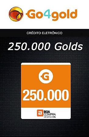 Go4Gold Boa Compra - 250.000 Créditos Gold