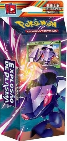 Pokemon - Deck - BW10 Explosão de Plasma - Limpeza da Mente (Genesect)