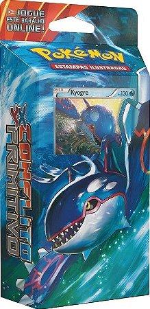 Pokemon - Deck - XY5 Conflito Primitivo - Núcleo Oceânico (kyogre)