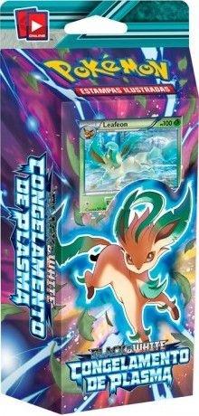 Pokemon - Deck -BW9 Congelamento de Plasma - Esmagador Psíquico (Leafeon)