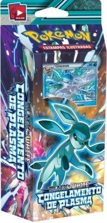 Pokemon - Deck -BW9 Congelamento de Plasma - Raio Congelante (Glaceon)