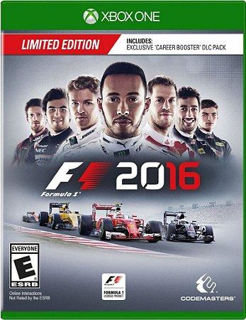 Formula 1 F1 2016 - Xbox One - Mídia Digital